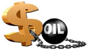 dollar and oil